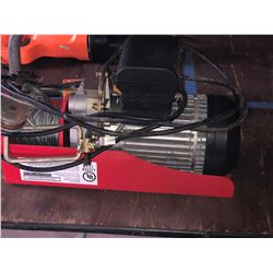 CENTRAL MACHINERY ELECTRIC HOIST
