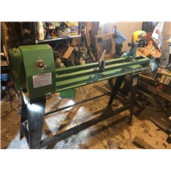"""CENTRAL MACHINERY 14""""X40"""" WOOD LATHE W/6""""SANDING DISC"""