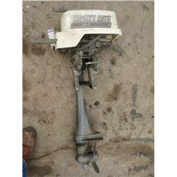 MIGHTY MITE 2HP OUTBOARD BOAT MOTOR/ELECTRONIC IGNITION