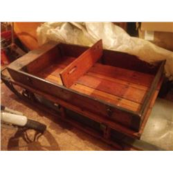 RESTORED WOODEN ANTIQUE PONY / HORSE  SLEIGH/BEAUTIFUL!!