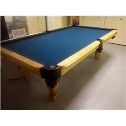 HIGH END SLATE NEW PROFESSIONAL POOL TABLE