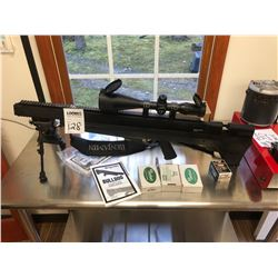BENJAMIN BULLDOG AIR RIFLE w 4 X 16 X 56 SCOPE