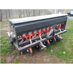 NEW 5FT 3 PT HITCH 10 HOLE GRAIN DRILL