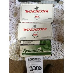 WINCHESTER/REMINGTON .40 CALIBER S& W 3 BOX LOT