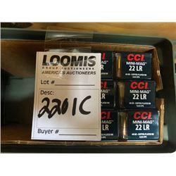 100 PACKS CCI MINI MAG .22 LR