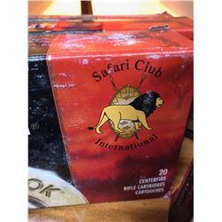 FEDERAL PREMIUM .416 SAFARI CLUB INTERNATIONAL 20 PACK/ 2 FULL BOXES, 1 PARTIAL