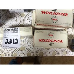 WINCHESTER .45 AUTO 230GR FMJ 50 PACKS 5 FULL ONE PARTIAL