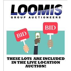 ONLINE & LIVE LOCATION AUCTION