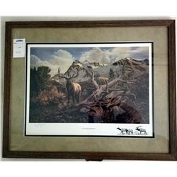 """FRAMED ART """"WEATHERED PATRIARCH"""" BY MORGAN PEETS"""
