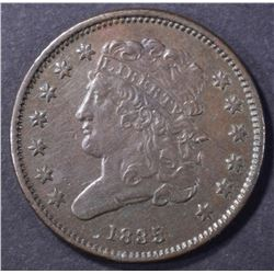 1835 HALF CENT, AU