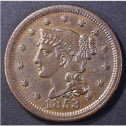 1853 LARGE CENT, AU