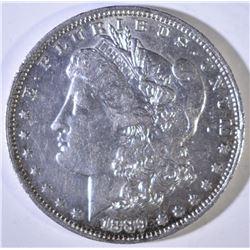 1889-O MROGAN DOLLAR AU