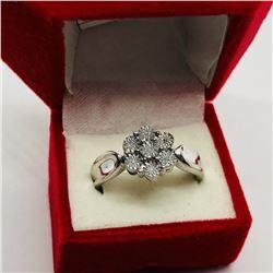 SIZE 7 DIAMOND RING