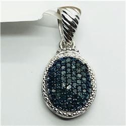BLUE DIAMOND (0.5ct) PENDANT