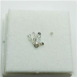 ASSORTED LOOSE DIAMONDS (0.3ct)