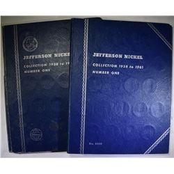 2-1938-61 CIRC JEFFERSON NICKELS SETS