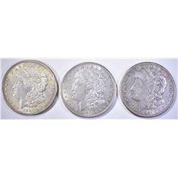 1921-P-D-S AU MORGAN DOLLARS