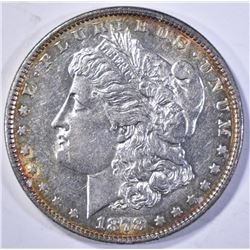 1878 7TF MORGAN DOLLAR, CH BU