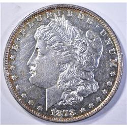 1878 8TF MORGAN DOLLAR, BU SEMI-PL