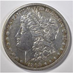 1892-S MORGAN DOLLAR AU OLD CLEANING