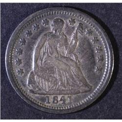 1841-O LIBERTY SEATED HALF DIME XF