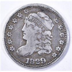 1829 BUST HALF DIME  VF/XF