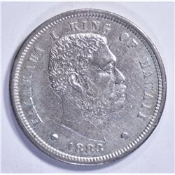 1883 HAWAII DIME, AU SCARCE!!