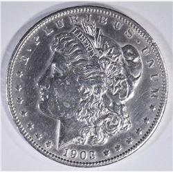 1903-O MORGAN DOLLAR BU CLEANED