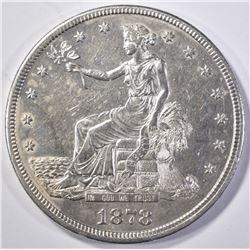 1878-S TRADE DOLLAR AU/BU