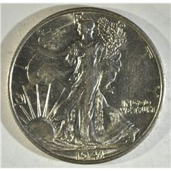 1941-S WALKING LIBERTY KEY DATE CH BU++