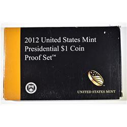 2012 PRESIDENTIAL PROOF SET ORIG PACKAGING