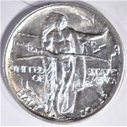 1926-S OREGON TRAIL COMMEM HALF DOLLAR, GEM BU