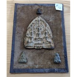 Ancient Buddha Plaque