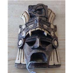 Aztec-style Wood Mask