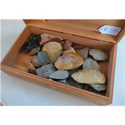 Box of Paleo Projectiles & Scrapers