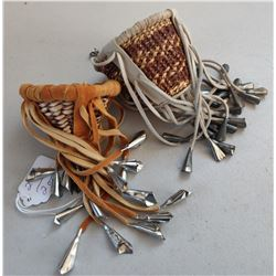 2 Small Apache Burden Baskets