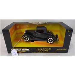 1:18 1934 Ford Coupe Die Cast Model