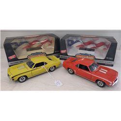 2 ERTL Camaro Model Cars