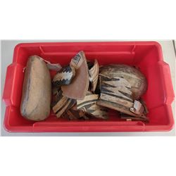 Box of Painted Potsherds