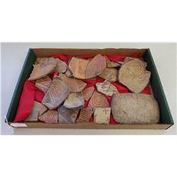 Hohokam Potsherds & Milling Stone
