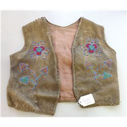 Childs Beaded Vest