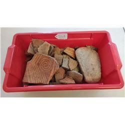 Collection of Hohokam Relics