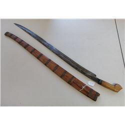 Large Sword & Scabbard