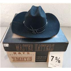 Large Black Cowboy Hat