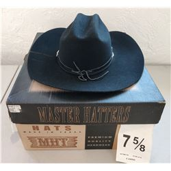 Large Black Cowboy Hat