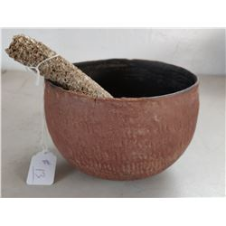 Salado Corrugated Pot