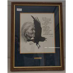 """I Am A Bird"" Douglas Weaver Drawing"