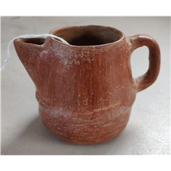 Red Miniature Clay Pitcher