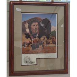 Limited Edition Print of Iron Eyes Cody by Douglas Weaver