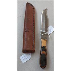 Custom Anza Bowie Knife w/Scabbard